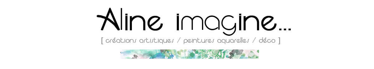 Aline Imagine - Aquarelle