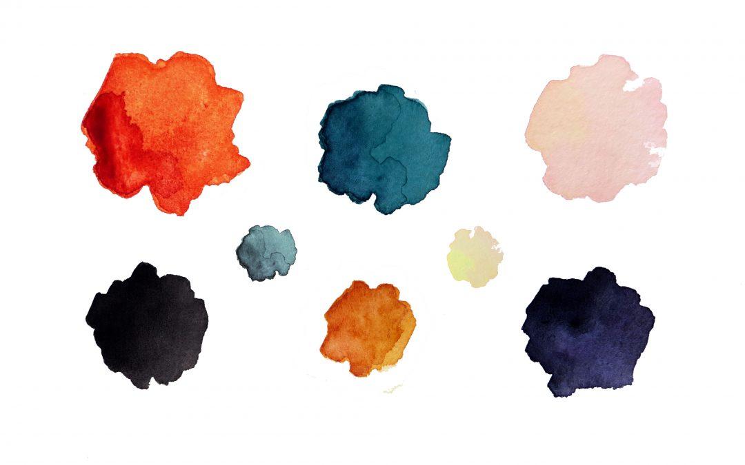 Association de couleurs : palette d'automne