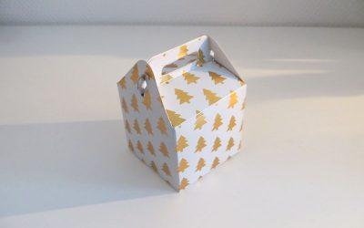 Petites boîtes cadeaux de Noël
