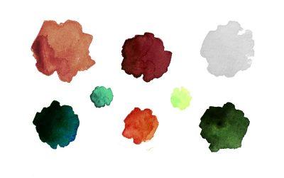 Association de couleurs : palette d'hiver