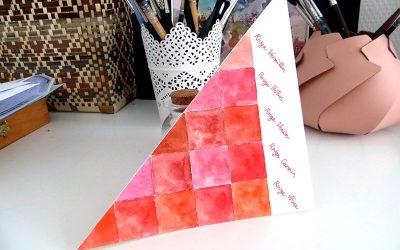 Réaliser une carte cadeau originale et poétique pour la Saint-Valentin – aquarelle