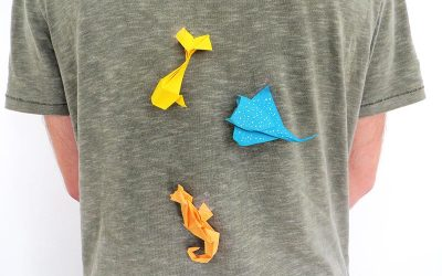 Les plus beaux poissons d'avril à réaliser en origami