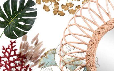 Déco – Les accessoires de l'été : chic vs champêtre